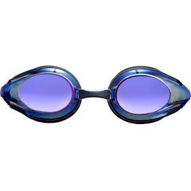 arena Tracks Mirror Svømmebriller blå/sort